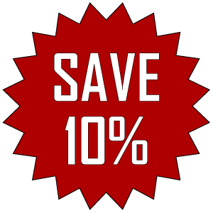Save 10 Get 10% Off
