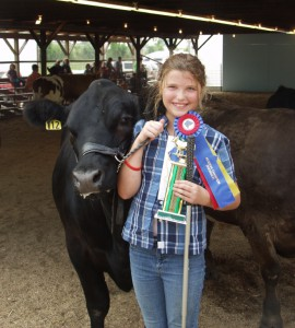 cow girl winner 270x300 McLennan County Junior Livestock Show