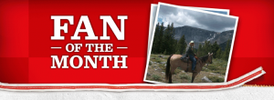 Fan of the month 300x110 Facebook Fan of the Month