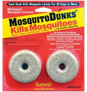 Mosquito Dunk 286x300 How Do You Kill Mosquitoes?