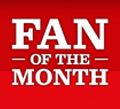 FanoftheMonth Facebook Fan of the Month