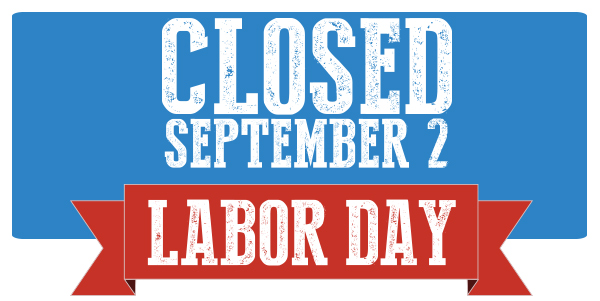 Dashing image regarding closed for labor day printable sign