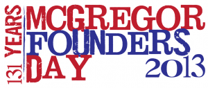 FoundersDay2013 logo 300x127 McGregor Founders Day 2013
