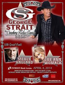 Strait concert poster 230x300 Win George Strait Tickets!