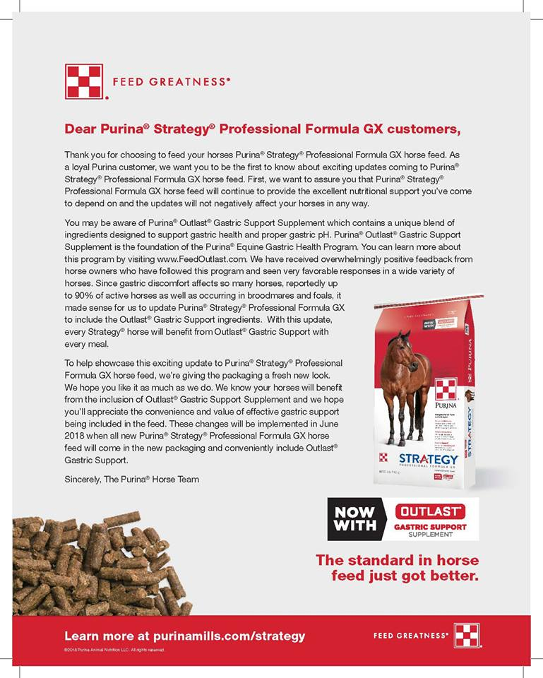 new purina strategy letter New Look, Improved Purina Strategy
