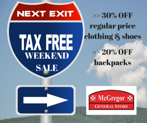 tax free WEEKEND SALE 2018 300x251 Texas Tax Free Weekend Sale 2018