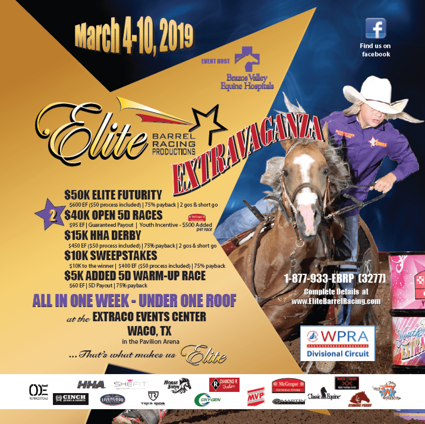 elite barrel racing elite extravaganza