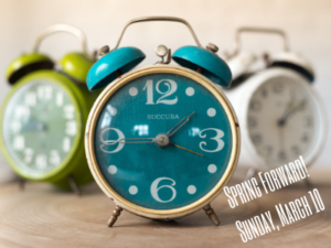 daylight savings time spring forward