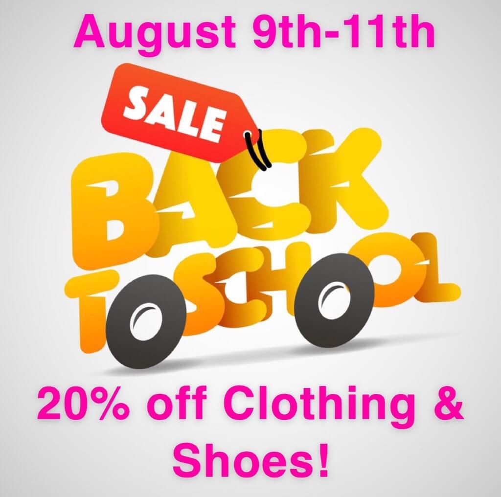 back to school sale texas tax-free weekend sale