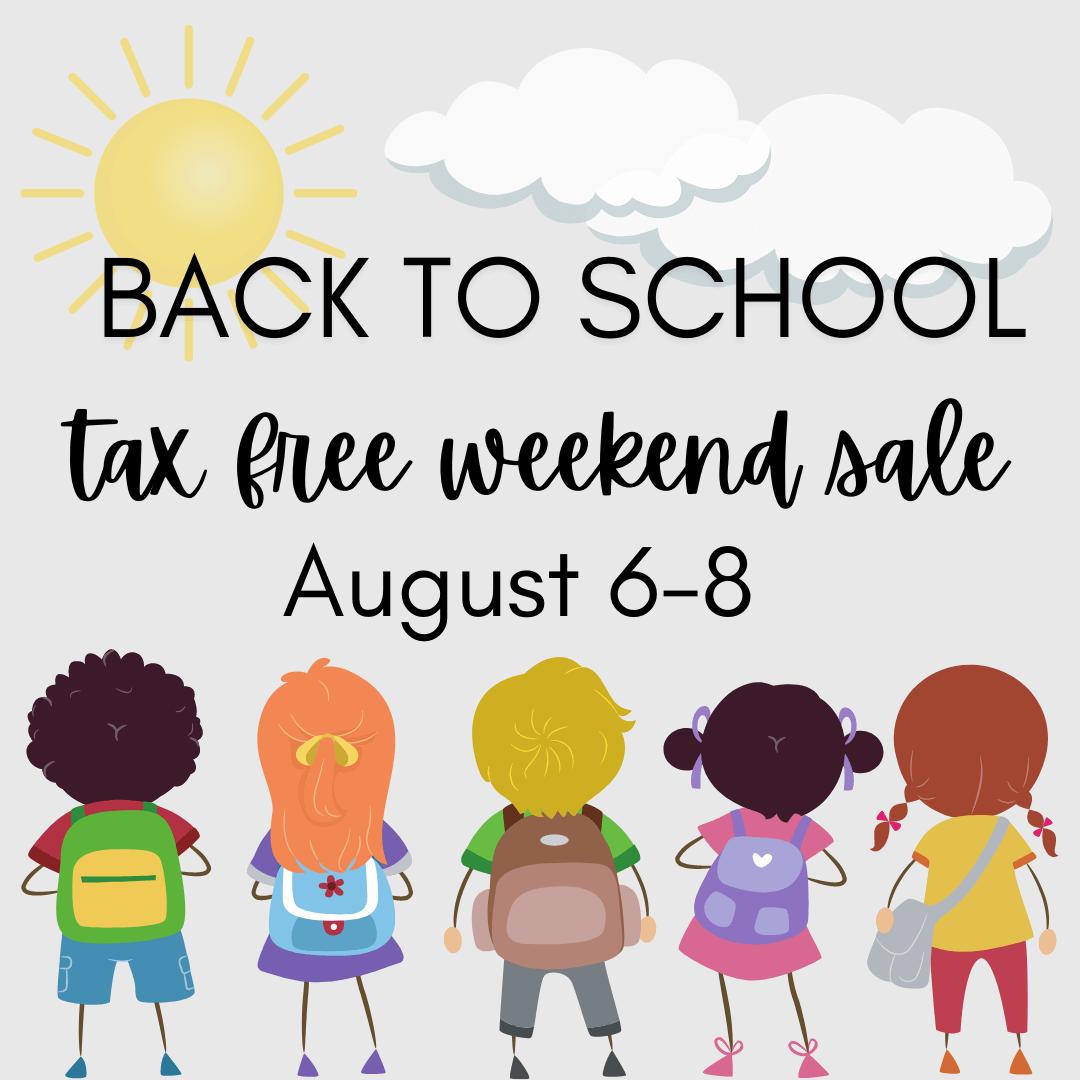 texas tax free weekend sale